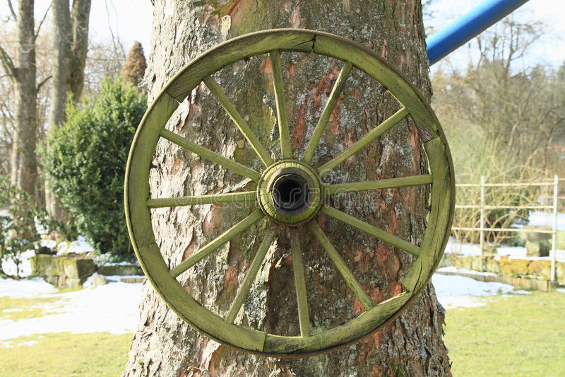 Spoked wheel stock images