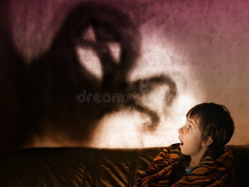 Spoken bij nacht stock foto