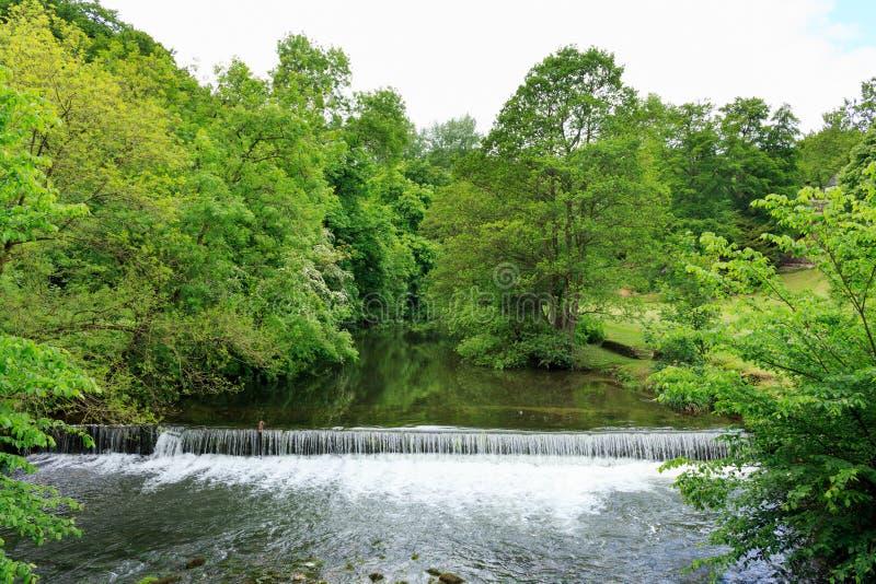 Spokojna rzeka zdjęcie stock