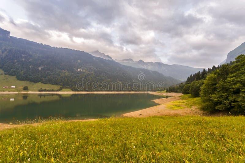 Spokojna scena w Szwajcaria obrazy stock