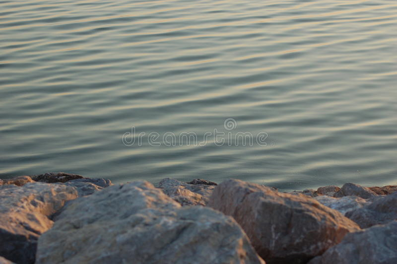 Spokojna woda obrazy royalty free