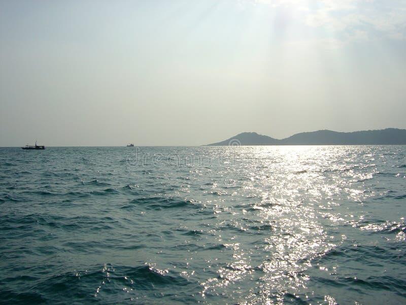 spokojne morze Thailand zdjęcia royalty free