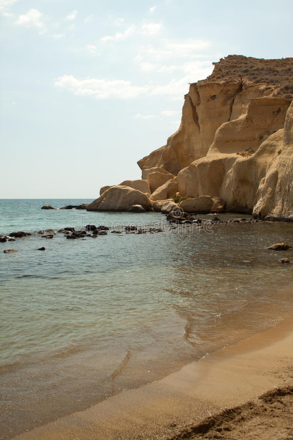 spokojnego morza widok zdjęcia stock