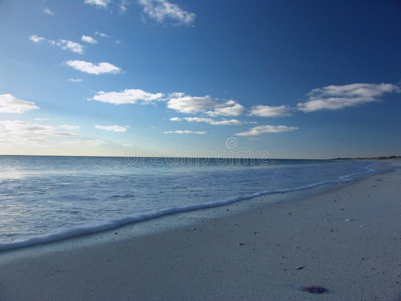 spokojnie na plaży zdjęcia stock