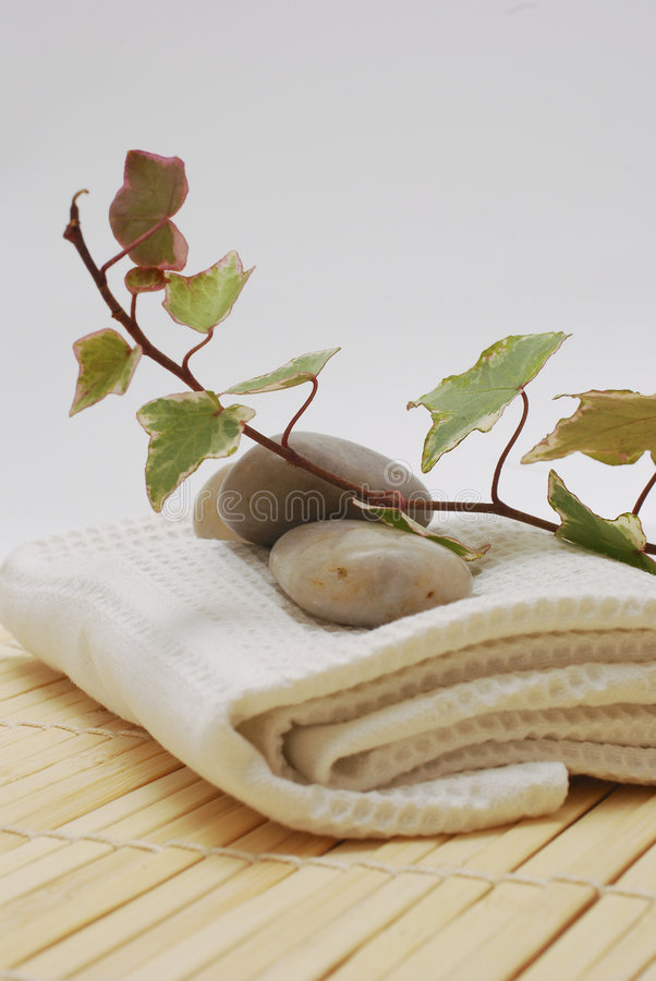 spokojnie spa wellness akcesoria zdjęcie royalty free