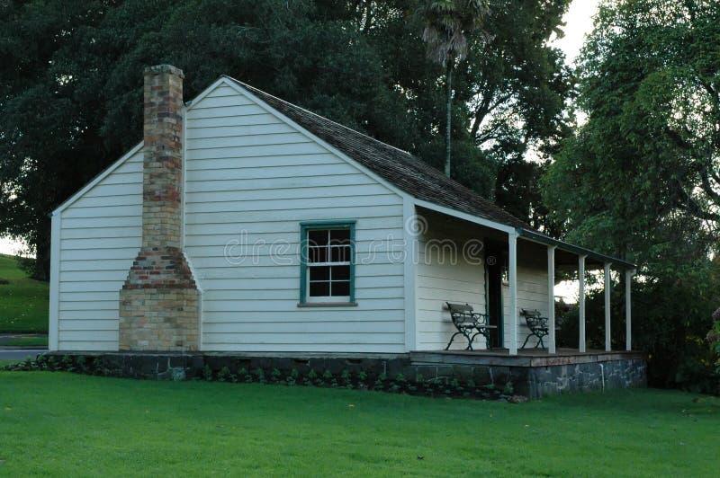 spokojnie stary dom obrazy stock