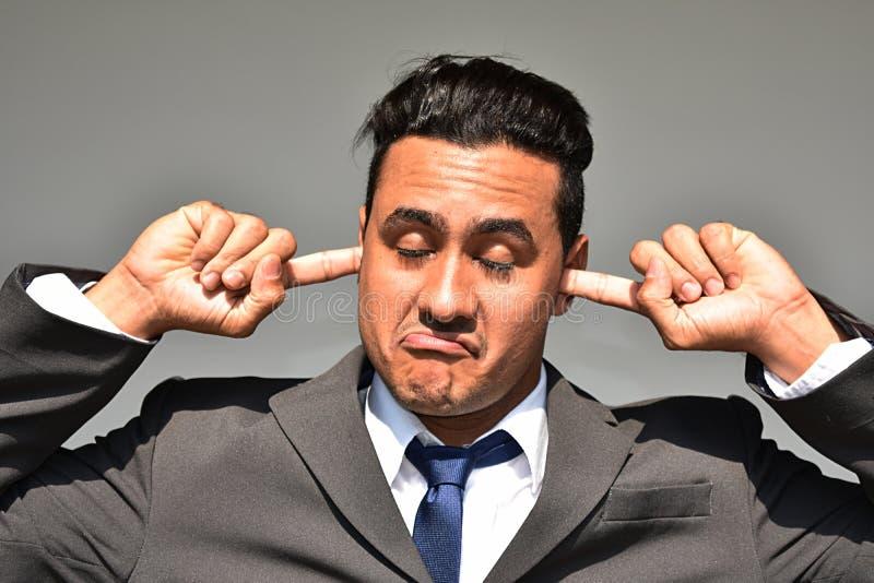 Spokojny Biznesowy mężczyzna zdjęcia stock