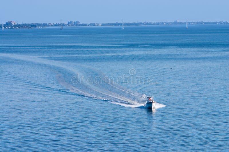 spokojny dzień łódź fotografia royalty free