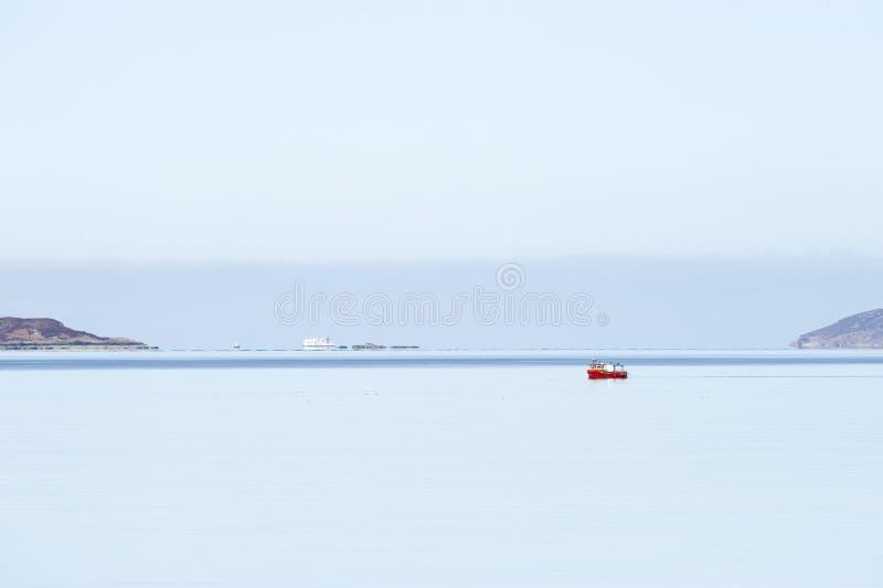 Spokojny dzień Przy morzem zdjęcie royalty free