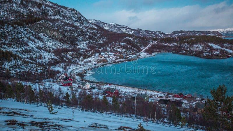 Spokojny dzień w Norwegia obraz stock