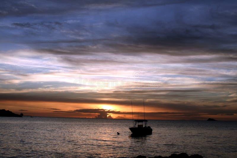 Spokojny niebo (1) obraz stock