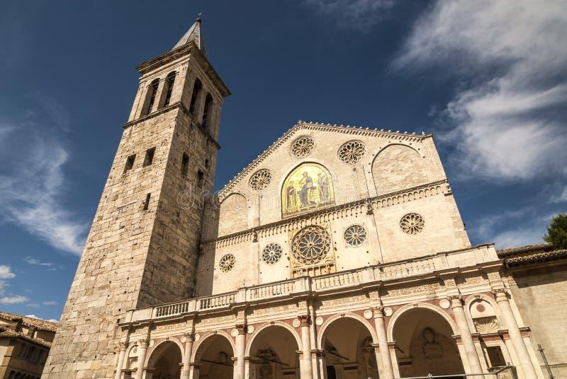 Spoleto (Úmbria) foto de stock