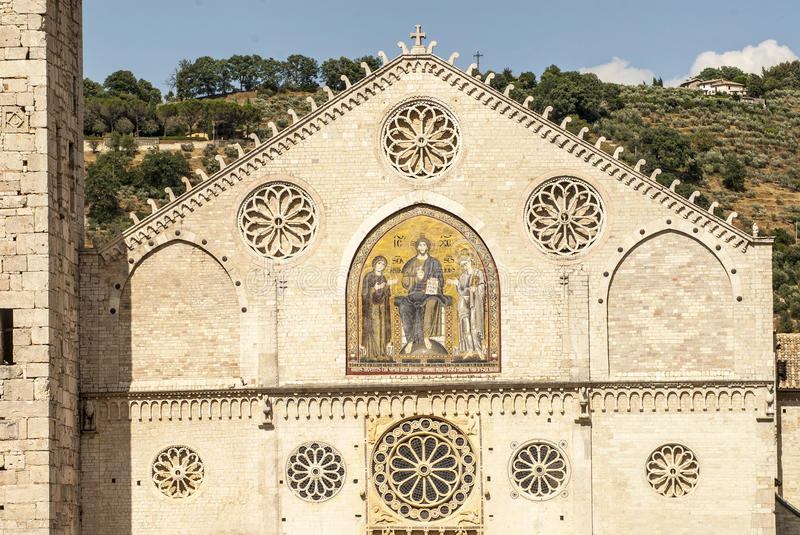 Download Spoleto (Umbria) stock photo. Image of mosaic, monument - 29794922