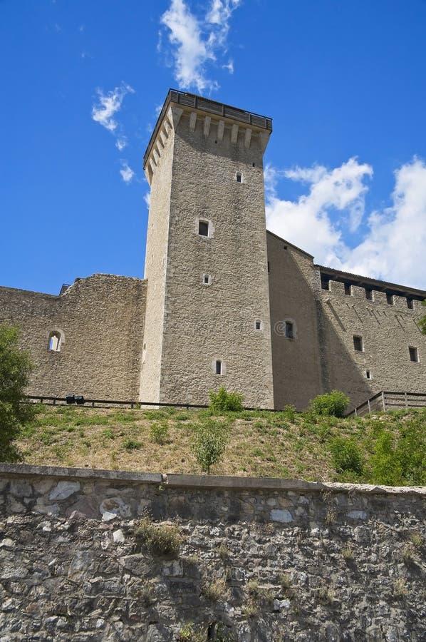 spoleto umbria крепости albornoz стоковая фотография