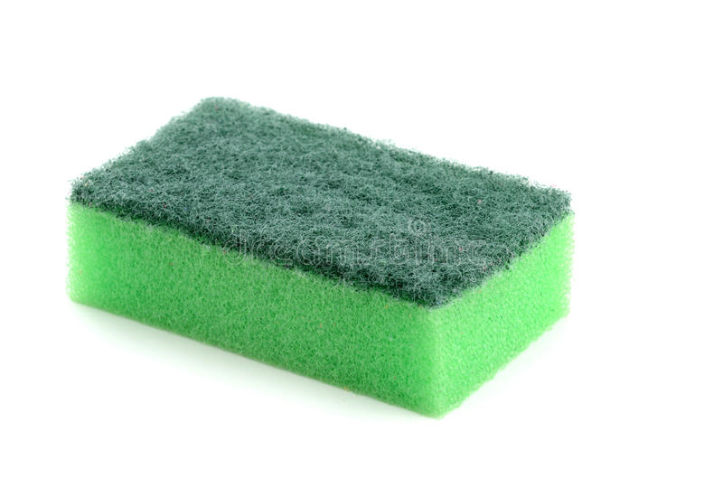 Sponge. To wash dirty dishese stock images