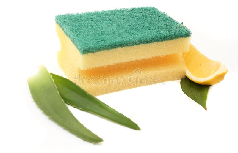Download Sponge stock image. Image of hygiene, yellow, soft, kitchen - 23610717