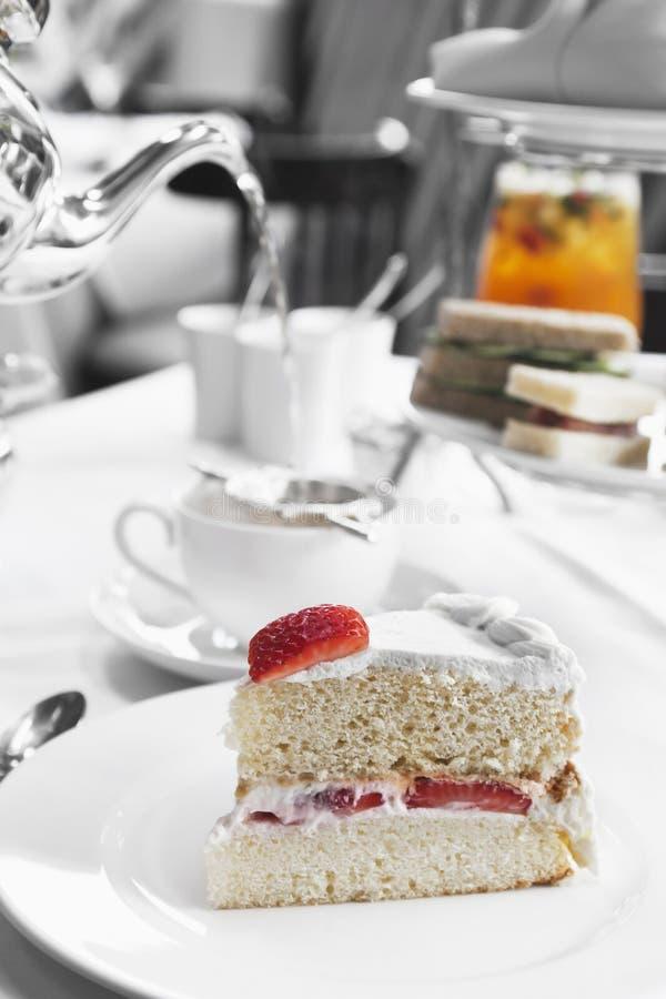 Download Sponge cake stock image. Image of creamy, sweet, colour - 22810701