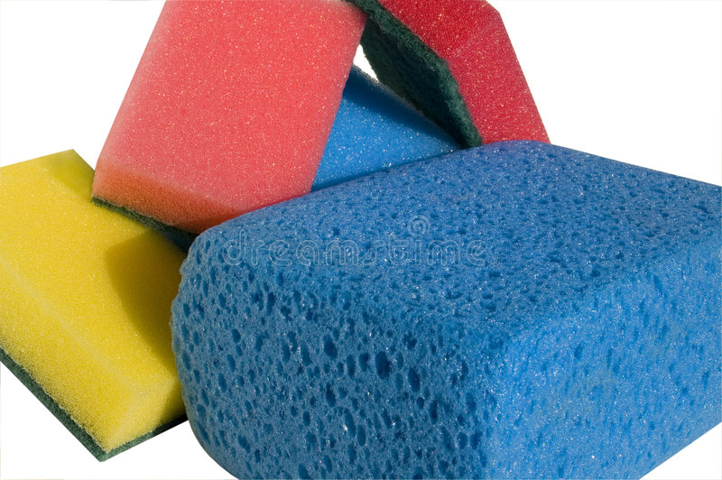 Download Sponge for cleanin stock photo. Image of cleaning, foam - 1422402