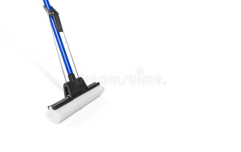 Sponge mop stock photo