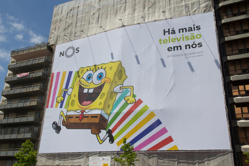 SpongeBob stock foto's