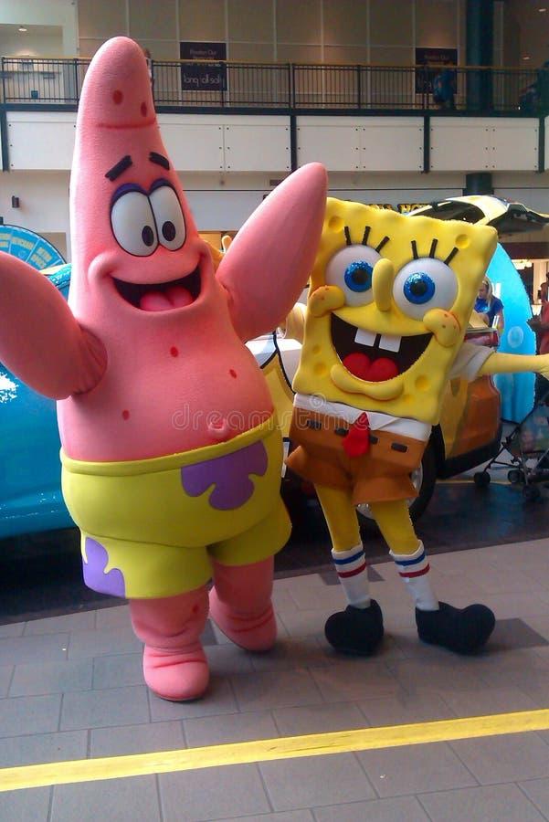 SpongeBob fotografía de archivo libre de regalías
