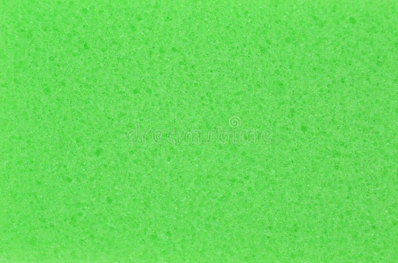 Spongy foamed rubber. Close up as background royalty free stock photography