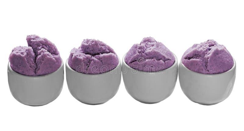 Spongy Potato Steamed Cake stock images