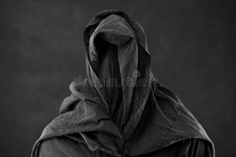 Spook in dark stock foto