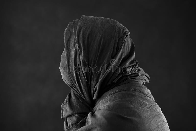 Spook in dark stock fotografie