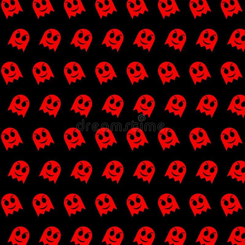 Spook - emojipatroon 79 stock illustratie
