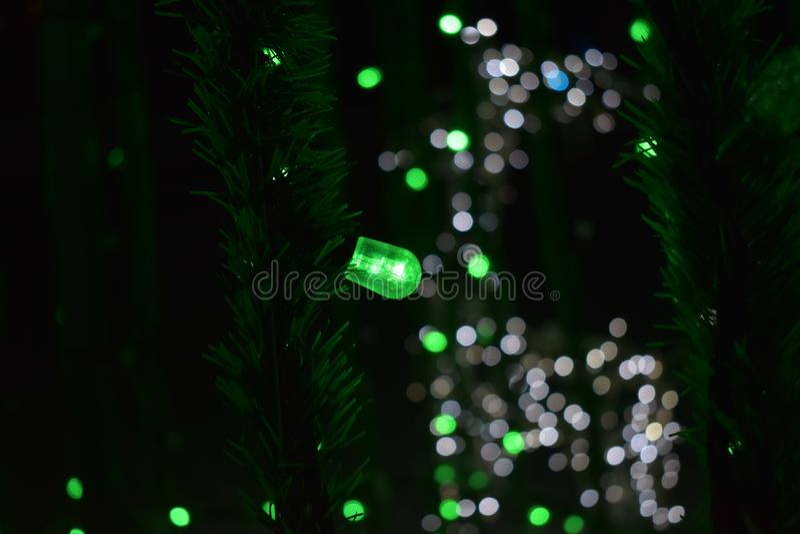 Spookherten van ballen van licht royalty-vrije stock afbeelding