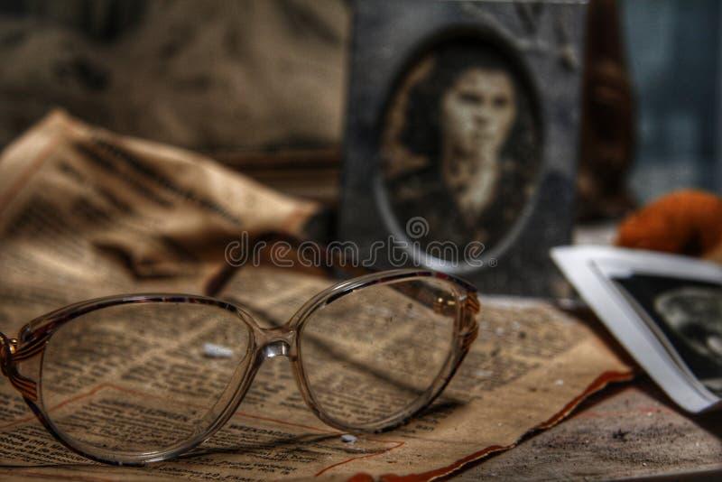 Spookhuisruimte royalty-vrije stock afbeelding