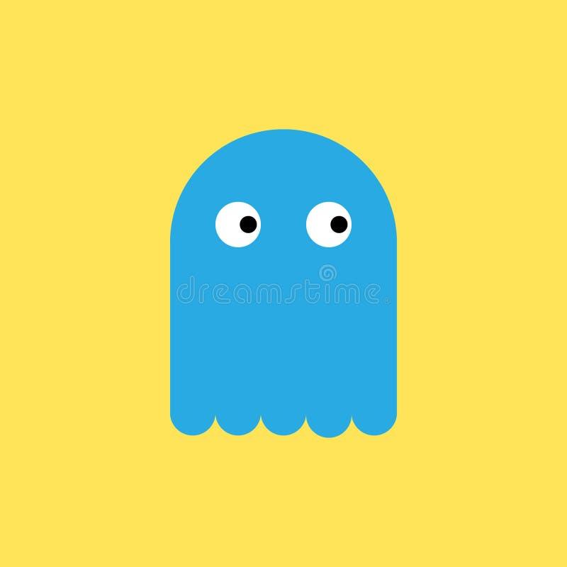 Spookpictogram vector illustratie