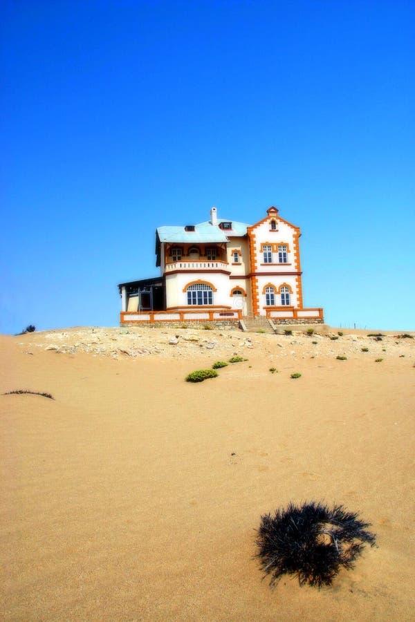 Spookstad, Kolmanskop Namibië royalty-vrije stock afbeeldingen