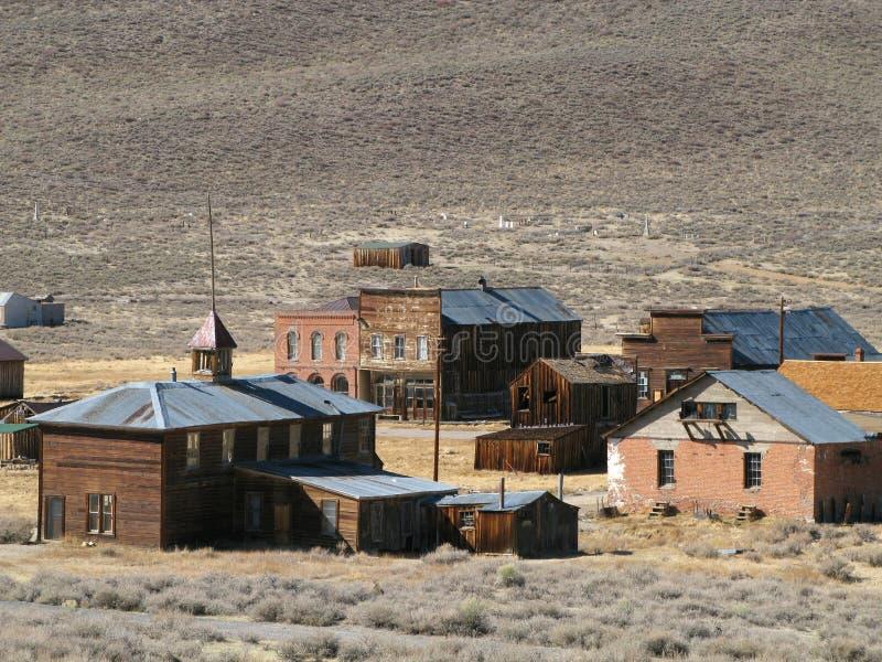 Spookstad van Lichaam Californië stock afbeelding