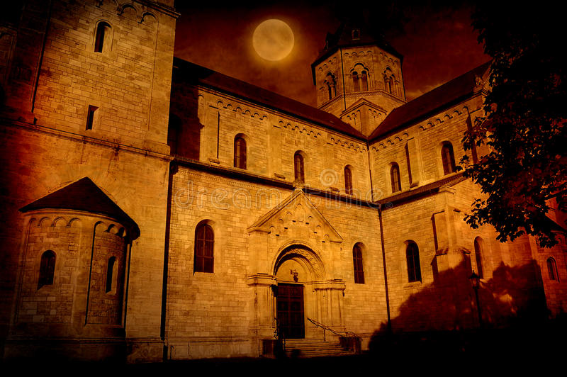 Download Spooky Castle stock image. Image of architecture, ancient - 18741001