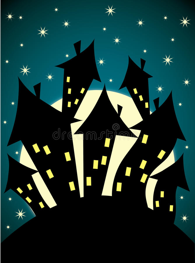 Free Spooky Castle Royalty Free Stock Images - 31535379