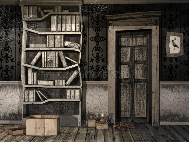 Download Spooky Children's Room Stock Images - Image: 34096964