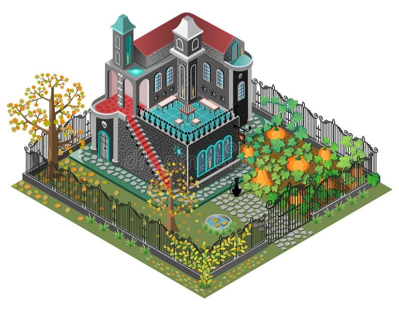 Spooky garden royalty free stock image
