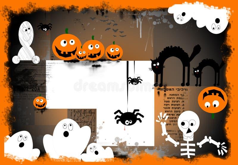 Download Spooky Halloween Background Stock Illustration - Image: 3261450