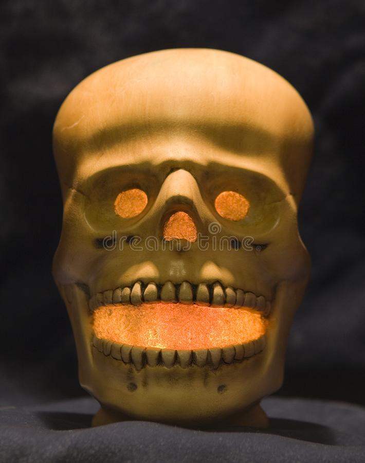 Spooky Halloween Skull Free Stock Images