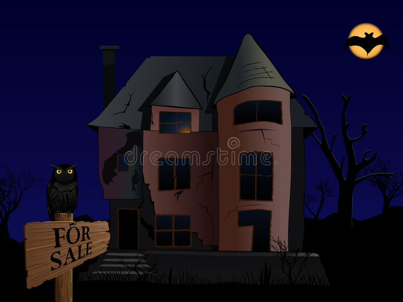 Spooky House Stock Photos