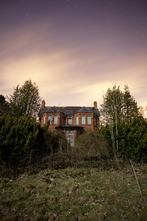 Download Spooky House Stock Photography - Image: 24042542