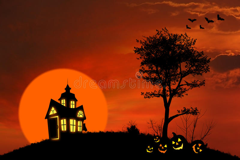 Download Spooky House Stock Image - Image: 26722261
