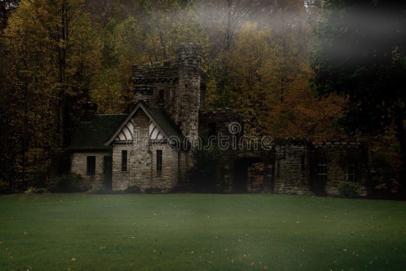 Spooky Mansion stock photos
