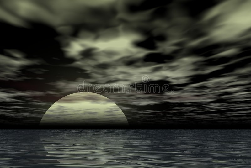 Download Spooky night stock illustration. Illustration of image - 881389
