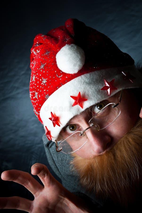 Download Spooky Santa stock photo. Image of celebration, stars - 17328520