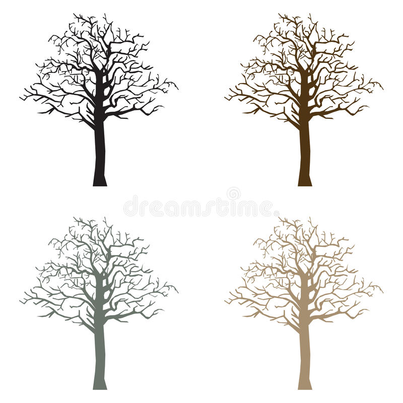 Download Spooky Tree stock illustration. Illustration of november - 21559870