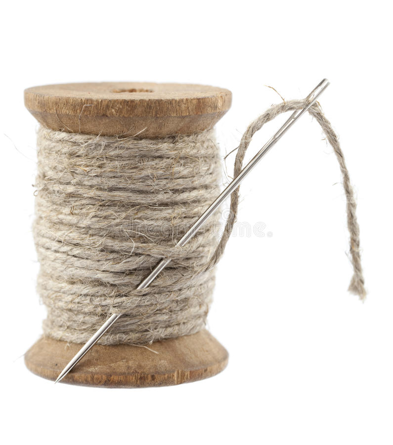 Download Spool of rope stock photo. Image of accessories, background - 24474108