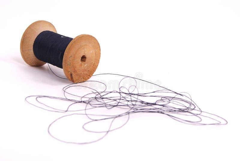 Download Spool of thread stock image. Image of green, studio, thread - 15613265